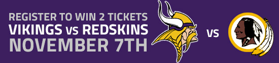 Register to win a Minnesota Vikings Tickets from Edina Realty WBL!